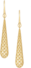 Серьги Gucci Diamantissima Yellow Gold Earrings YBD298161001