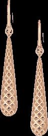 Серьги Gucci Diamantissima Pink Gold Earrings YBD298161002