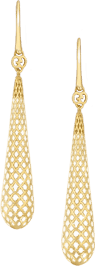 Серьги Gucci Diamantissima Yellow Gold Earrings YBD298244001