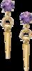Серьги Gucci Horsebit Cocktail Earrings YBD298377001