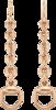 Серьги Gucci Horsebit Pink Gold Earrings YBD325813002