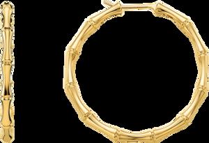 Серьги Gucci Bamboo Yellow Gold Earrings YBD325819001