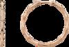 Серьги Gucci Bamboo Pink Gold Earrings YBD325819002