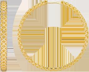 Серьги Gucci Diamantissima Yellow Gold Earrings YBD325884001