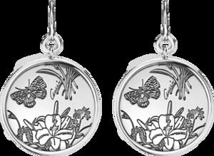 Серьги Gucci Flora Silver Earrings YBD325908001