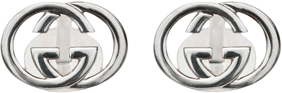 Запонки Gucci Silver Others Cufflinks YBE214193001