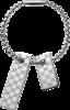 Брелок Gucci Silver Others Keyring YBF228125001