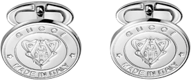 Запонки Gucci Silver Others Cufflinks YBF284548001