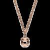 Ожерелье Gucci Horsebit Rose Gold Necklace YBB271991002