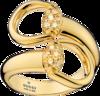 Кольцо Gucci Horsebit Yellow Gold Ring YBC357036001