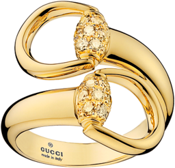 Кольцо Gucci Horsebit Yellow Gold Ring YBC357036001