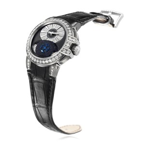 Harry Winston Lady Z (Zalium-Diamonds / Ruthenium-Diamonds / Rubber) 400 / UAMP36ZL.TD / D3.1