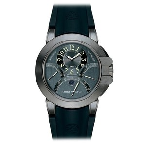 Harry Winston Project Z1 (Zalium / Grey / Rubber) 400 / MCRA44ZC.A