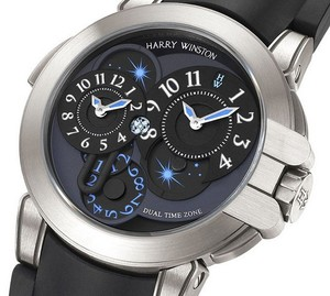 Harry Winston Project Z4 (Zalium / Black / Rubber) 400 / MATZ44ZC.K1