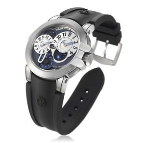 Harry Winston Project Z4 (Zalium / Silver / Rubber) 400 / MATZ44ZC.W