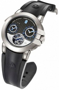 Harry Winston Project Z5 (Zalium / Anthracite / Rubber) 400 / MATTZ45ZC.A