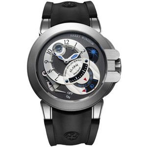 Harry Winston Project Z6 (Zalium / Anthracite / Rubber) 400 / MMAC44ZC.K