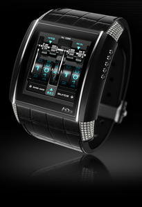 HD3 Complication SLYDE Black & Diamonds