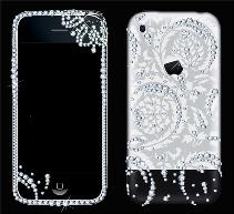 iPhone 3 Luxury Swarovski & Engraving