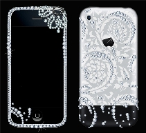 iPhone 3 Luxury Swarovski & Engraving