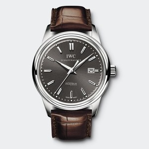 IWC Vintage Ingenieur Automatic (WG/Grey/Leather strap) IW323304