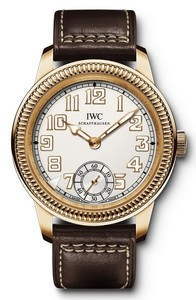 IWC Vintage Pilot's Hand Wound (RG / Silver / Leather) IW325403