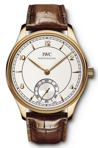 IWC Vintage Portuguese Hand-Wound (RG / Silver / Leather) IW544503