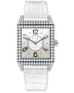 Jaeger LeCoultre Jaeger LeCoultre Reverso Squadra Lady Duetto (WG-Diamonds /White/ Leather) Q7053402