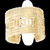Boucheron Quatre Radiant Edition Yellow Cuff Bracelet