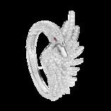 Boucheron Cypris, the swan Bracelet Diamonds