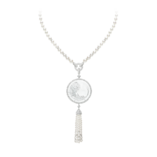 Boucheron Plume de Paon medallion