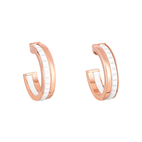 Boucheron Quatre White Edition Hoop Earrings