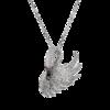 Boucheron Cypris, the swan pendant