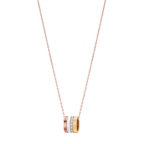 Boucheron Quatre White Edition Mini Ring Pendant