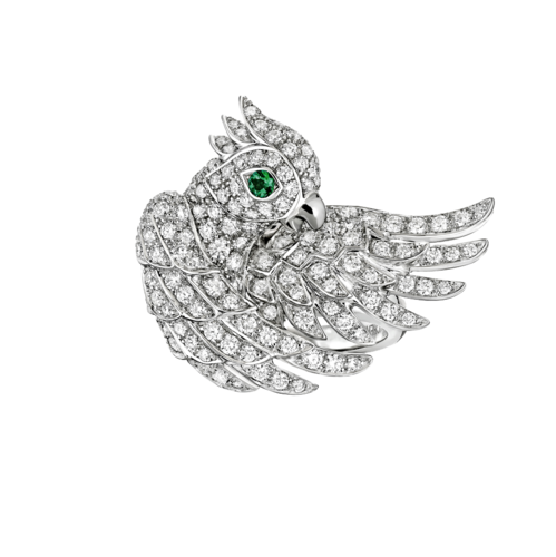 Boucheron Nuri, the Cockatoo Ring Diamonds