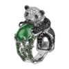 Boucheron Biladom, the Panda Ring Emerald