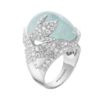Boucheron Arctic, the Penguin Ring Aquamarine