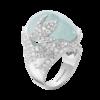 Boucheron Arctic, the Penguin Ring Aquamarine