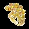 Boucheron Héra, the yellow peacock ring