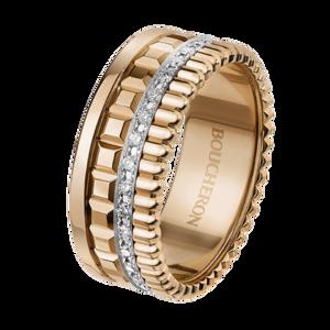 Boucheron Quatre Radiant Edition pink small ring