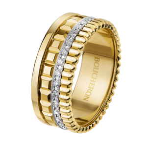 Boucheron Quatre Radiant Edition yellow small ring