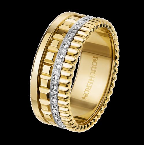 Boucheron Quatre Radiant Edition yellow small ring
