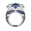 Boucheron Chinha, the Eagl blue ring