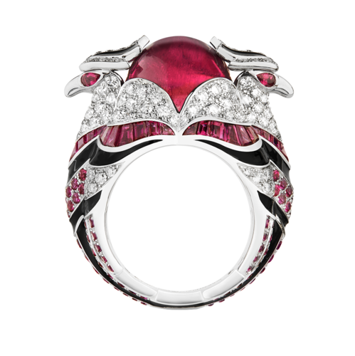 Boucheron Chinha, the Eagl red ring