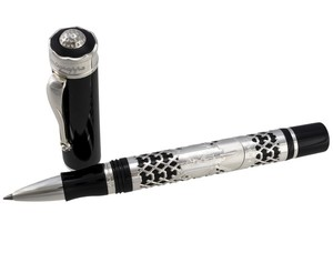 Montegrappa St Andrews Links Rollerball Pen, Black