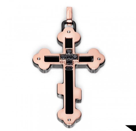 Мужской крест Baraka CR221531RODN000020