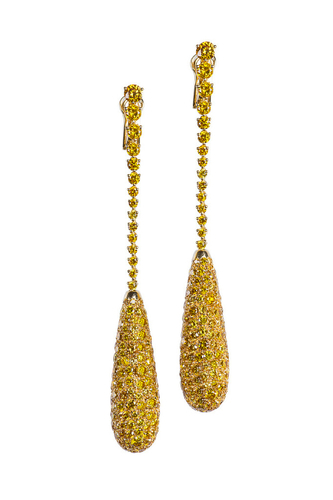 Cantamessa Yellow Earrings ER0029