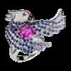 Boucheron Cockatoo Ring Pink sapphire