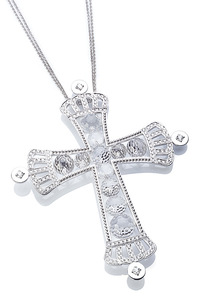 Cantamessa Cross Necklace CP 407