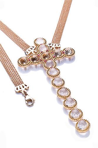 Cantamessa Cross Necklace CP 417